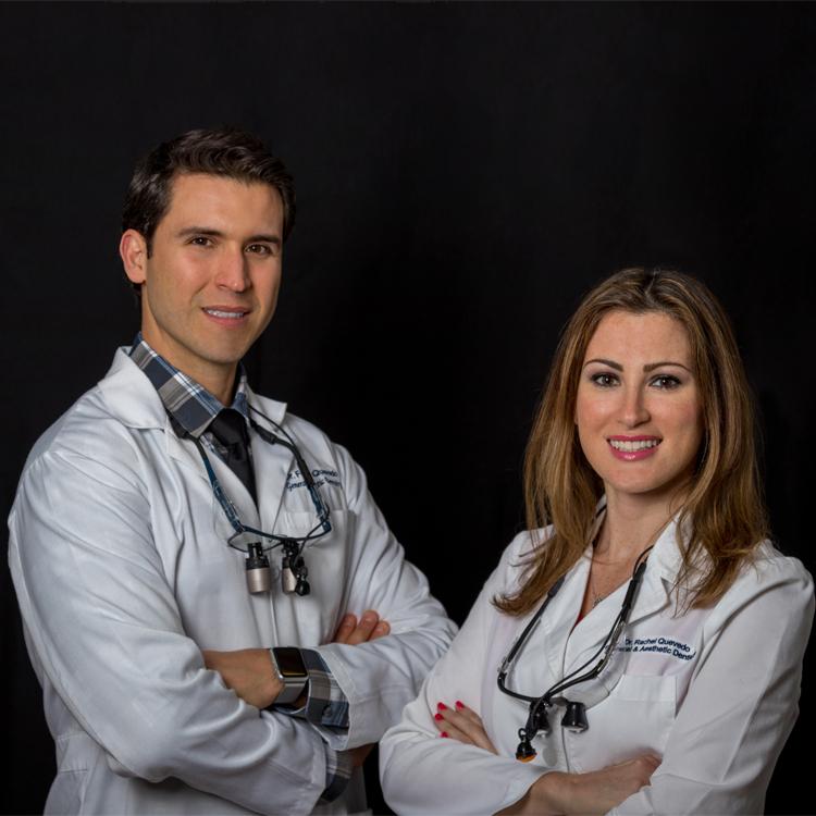 Dr. Fernando Quevedo and Dr. Rachel Quevedo